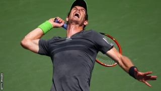 Andy Murray will next face German qualifier Matthias Bachinger in the second round