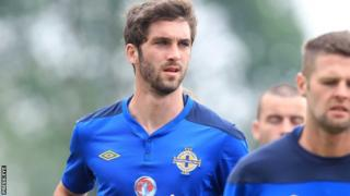 MK Dons' goalscoring hero Will Grigg is part of the Northern Ireland squad to face Hungary
