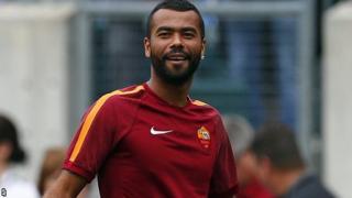 Roma's new signing Ashley Cole