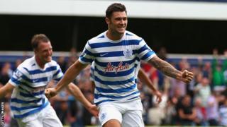 QPR striker Charlie Austin