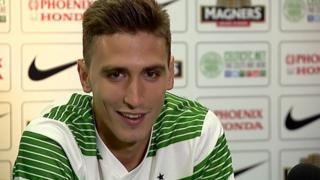 Celtic striker Stefan Scepovic