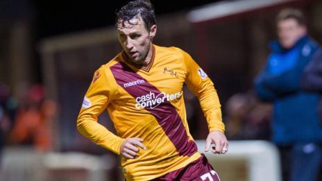 Motherwell forward Scott McDonald