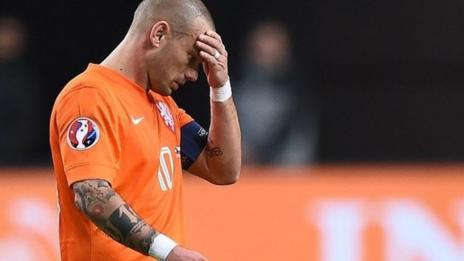 Netherlands skipper Wesley Sneijder