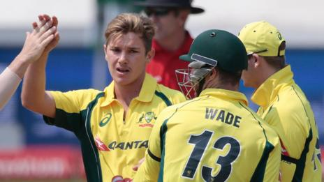 Adam Zampa took three wickets for Australia