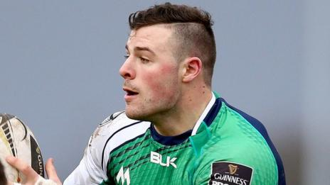 Robbie Henshaw looked sharp ahead of his expected appearance for Ireland next weekend