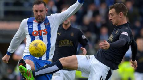 Falkirk lost last season's final after victory in the first leg against Kilmarnock