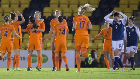 The Dutch were convincing winners in Livingston
