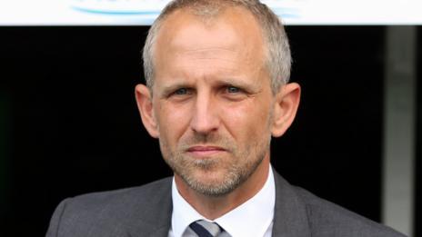 Cardiff head coach Paul Trollope
