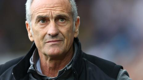 Swansea boss Francesco Guidolin