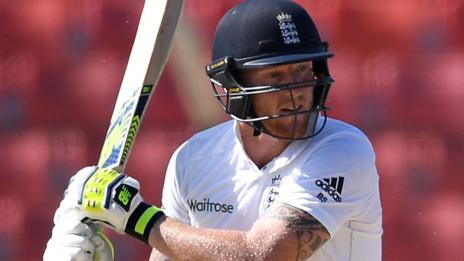 Ben Stokes on the attack for England