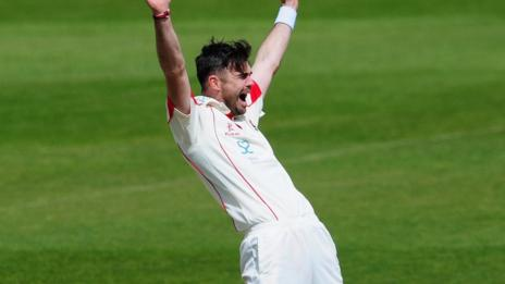 Lancashire and England fast bowler Jimmy Anderson