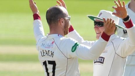 Jack Leach and Dom Bess