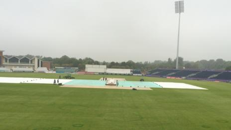 Covers on at Chester-le-Street