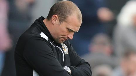 Newport County manager Warren Feeney