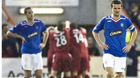 Aberdeen and Rangers have a long history of fierce rivalry