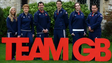 Team GB shooting squad