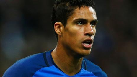 France's Raphael Varane ruled out of Euro 2016