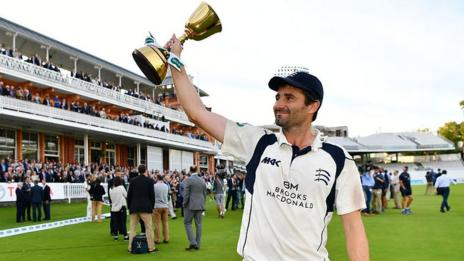 Tim Murtagh took 43 wickets in 14 matches this summer as Middlesex won the County Championship for the first time in 23 years