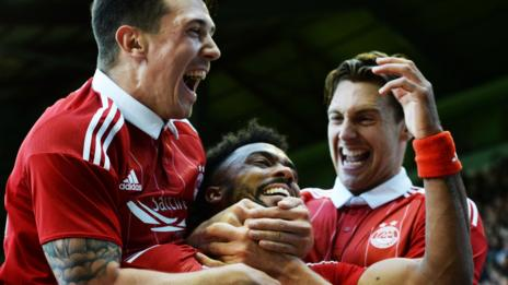 Ryan Jack (left), Shay Logan and Ash Taylor