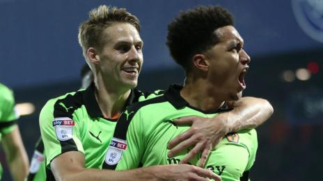 Dave Edwards and Helder Costa