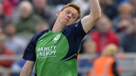 Ireland bowler Craig Young