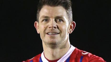 Eastleigh striker Jamie Cureton