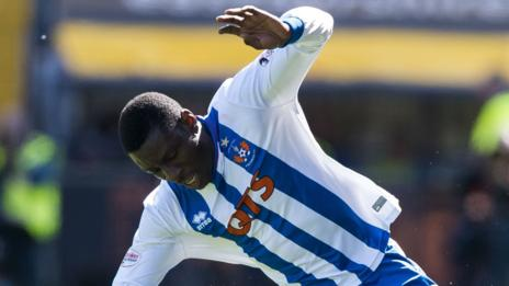 Tope Obadeyi leaves Kilmarnock after two seasons in the Scottish Premiership
