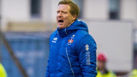 Former Kilmarnock manager Gary Locke
