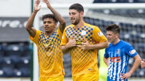 Morton beat Kilmarnock 2-0