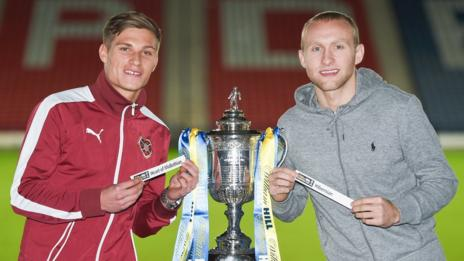 Gavin Reilly and Dylan McGeouch