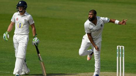 Warwickshire spinner Jeetan Patel has now taken 50 first-class wickets for the Bears in a summer for the fifth successive year