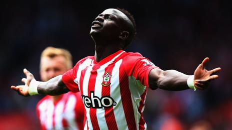 Sadio Mane completes transfer from Southampton to Liverpool