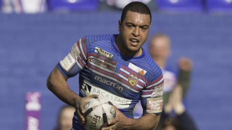 Wakefield Wildcats utility back Reece Lyne