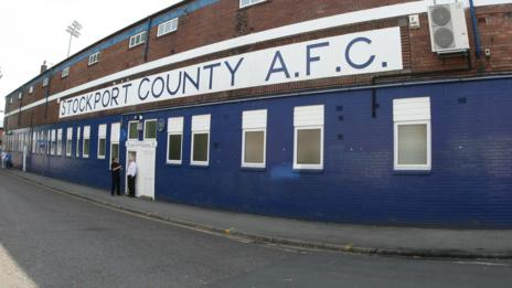 BBC Sport - Football - Stockport County