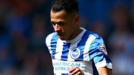Brighton defender Liam Rosenior