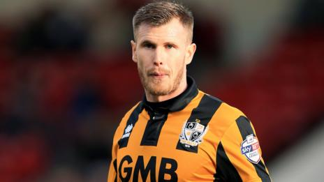 Port Vale midfielder Michael O'Connor