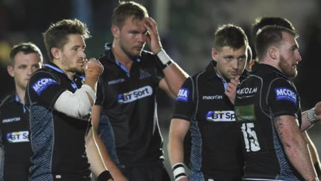 Glasgow players reflect on their defeat by Ulster