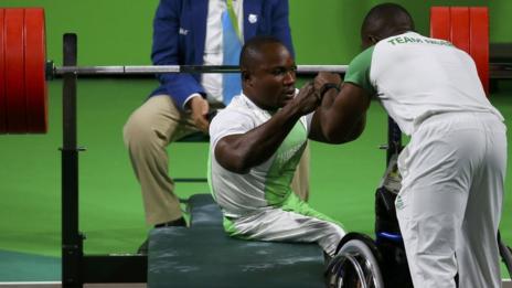 Rio Paralympics - Powerlifting - Final - Men