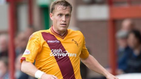 Motherwell defender Steven Hammell