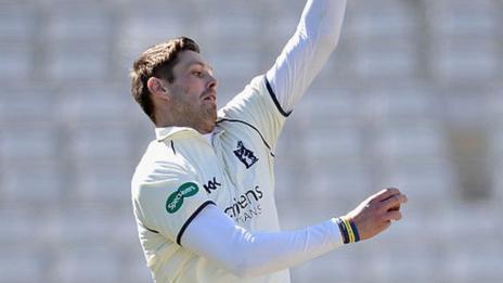 Warwickshire and Ireland fast bowler Boyd Rankin