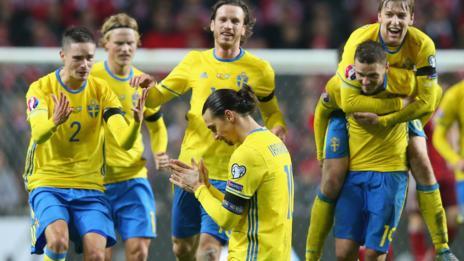 Sweden captain Zlatan Ibrahimovic