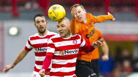 Hamilton and Dundee United played out a 0-0 draw