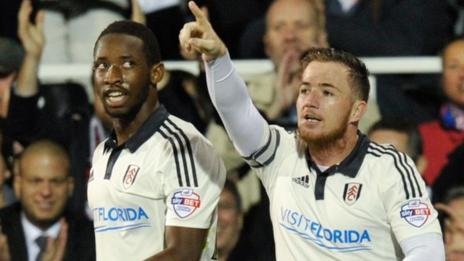 Moussa Dembele and Ross McCormack