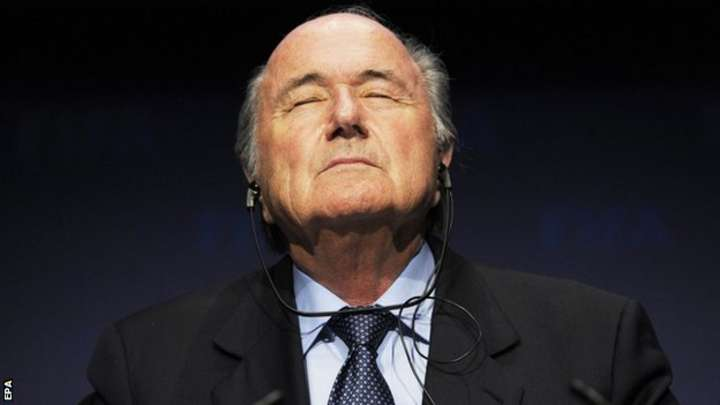 Sepp Blatter has been Fifa president since 1998