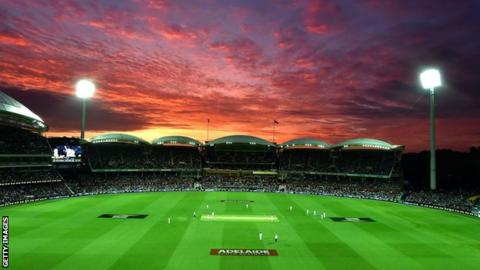 Adelaide Oval under lights