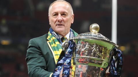 Rugby league coach Tim Sheens