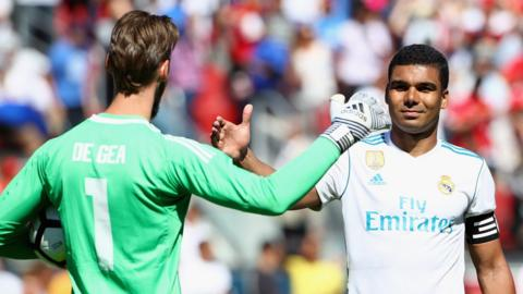 David de Gea and Casemiro