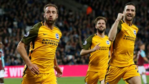 Glenn Murray celebrates