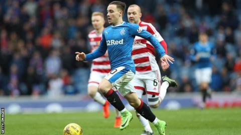 Rangers winger Barrie McKay set for £500k move to Nottingham Forest