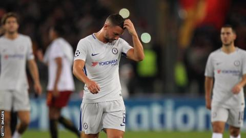 Danny Drinkwater playing for Chelsea